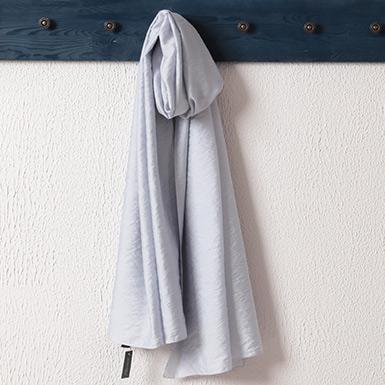 ipekistanbul - %15 İpek Karışımlı Düz Renk Şal - Gümüş