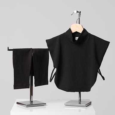 ipekistanbul - 2' li Kombin - ( Boyunluk - Kolluk ) - Siyah