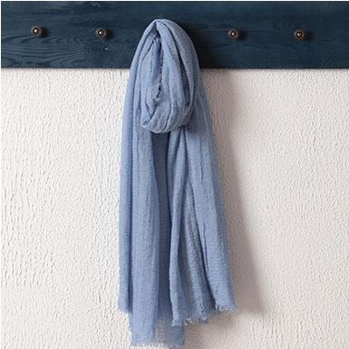 ipekistanbul - Bürümcük Şal - Bebe Mavi