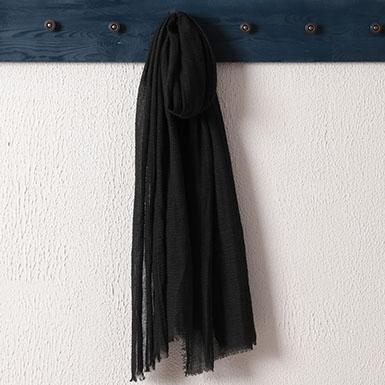 ipekistanbul - Bürümcük Şal - Siyah