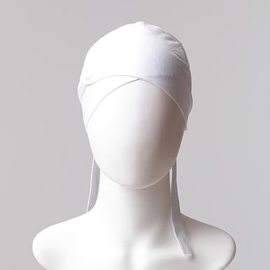 ipekistanbul - Çapraz Bandana Bone - Beyaz