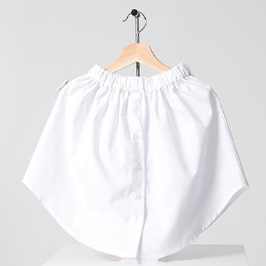 ipekistanbul - Gömlek Etek Matik - Beyaz