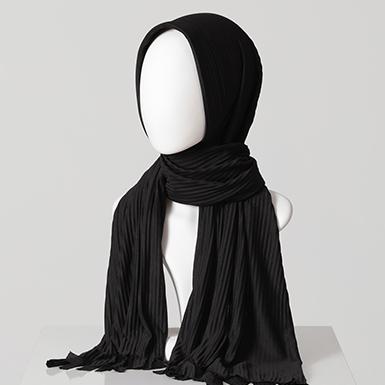 ipekistanbul - Hazır Pratik Şal - Siyah