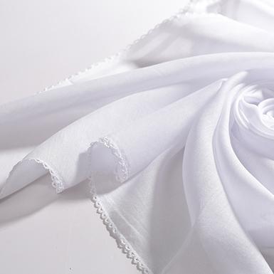 ipekistanbul - İç Başörtü - % 100 Pamuk - Beyaz