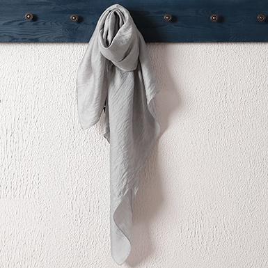 ipekistanbul - İpekli Günlük 100x100 cm Eşarp - Gümüş