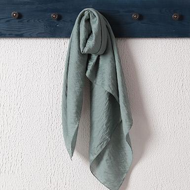 ipekistanbul - İpekli Günlük 100x100 cm Eşarp - Mint Yeşili