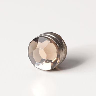 ipekistanbul - Mıknatıslı Eşarp Klipsi - Kristal - Taş