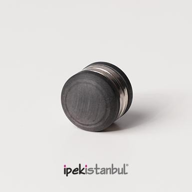 ipekistanbul - Mıknatıslı Eşarp Klipsi - Mat - Füme