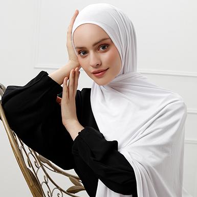 ipekistanbul - Penye Şal - Beyaz