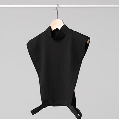 ipekistanbul - Penye Tesettür Boyunluk - %100 Pamuk - Siyah