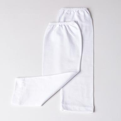 ipekistanbul - Tesettür Kolluk - Penye - Beyaz