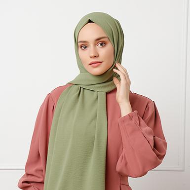 ipekistanbul - Venüs Krinkıl Şal - Yeşil